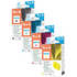 HP 364XL Peach Compatible Black and Colour 4 Ink Cartridge Pack