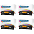 HP 36A ( CB436A ) Compatible Black Toner Cartridge Quad Pack