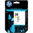 HP 38 ( C9417A ) Yellow Original Ink Cartridge
