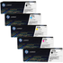 HP 410A (BK/C/M/Y) Original Black & Colour Toner Cartridge 5 Pack *100 Cashback*