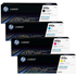 HP 410A (BK/C/M/Y) Original Black Colour Toner Cartridge 4 Pack *50 Cashback*