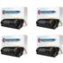 HP 42X ( Q5942X ) Compatible High Yield Black Toner Cartridge Quadpack