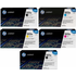 HP 501A/503A Original Black and Colour Toner Cartridge 5 Pack *100 Cashback*