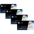 HP 504A (CE250 / CE251 / CE253 / CE252) Original Black and Colour Toner Cartridge Pack *50 Cashback*