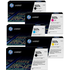 HP 507A (CE400 / CE401 / CE402 / CE403) Original Black and Colour Toner Cartridge 5 Pack *100 Cashback*
