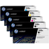 HP 508A (CF360A/61A/62A/63A) Original Black and Colour Toner Cartridge 5 Pack *100 Cashback*