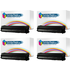 HP 53X ( Q7553X ) Compatible High Yield Black Toner Cartridge Quadpack