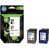 HP 56 / 57 ( C6656ae / C6657ae ) Original Black and Colour Ink Cartridge Pack