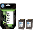 HP 56 ( C9502ae ) Original Black Ink Cartridges Twinpack