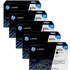 HP 641A (C9720 / C9721 / C9723 / C9722) Original Black and Colour Toner Cartridge 5 Pack *100 Cashback*