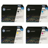 HP 643A (Q5950 / Q5951 / Q5953 / Q5952) Original Black and Colour Toner Cartridge Pack *50 Cashback*