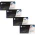 HP 647A (CE260 / CB261 / CB263 / CB262) Original Black and Colour Toner Cartridge Pack *50 Cashback*