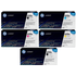 HP 650A (CE270 / CE271 / CE273 / CE272) Original Black and Colour Toner Cartridge 5 Pack *100 Cashback*