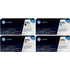 HP 650A (CE270 / CE271 / CE273 / CE272) Original Black and Colour Toner Cartridge Pack *50 Cashback*