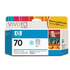 HP 70 ( C9390A ) Original Light Cyan Ink Cartridge