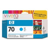 HP 70 ( C9452A ) Original Cyan Ink Cartridge