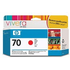 HP 70 ( C9456A ) Original Red Ink Cartridge