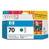 HP 70 ( C9457A ) Original Green Ink Cartridge