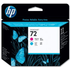 HP 72 ( C9383A ) Original Magenta and Cyan Printhead