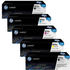 HP 823A (CB380 / CB381 / CB383 / CB382) Original Black and Colour Toner Cartridge 5 Pack *100 Cashback*