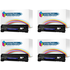 HP 85A ( CE285A ) Compatible Black Toner Cartridge Quad Pack