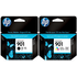 HP 901 Original Standard Black and Colour Ink Cartridge Pack
