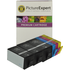 HP 920XL Compatible Black and Colour Ink Cartridge 6 Pack