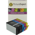 HP 920xl ( CD972 / CD973 / CD974 / CD975 ) Compatible Black and Colour 4 Ink Cartridge Pack