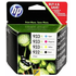 HP 932XL / 933XL Original High Capacity Ink Cartridge 4 Pack