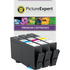 HP 935XL ( C2P24AE / C2P25AE / C2P26AE ) Compatible Ink Cartridge 3 Pack - Newest Chip Technology