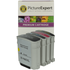 HP 940XL Compatible Black and Colour Ink Cartridge 4 Pack