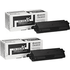 Kyocera TK-590K Original Black Toner Cartridge TWIN PACK