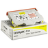 Lexmark 0015W0902 Original Yellow Toner Cartridge