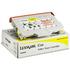 Lexmark 0015W0902 Original Yellow Toner Cartridge