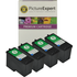 Lexmark 1 / 18C0781 x 4 Compatible Colour Ink Cartridges