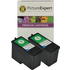 Lexmark 1 / 18C0781 x2 Compatible Colour Ink Cartridges