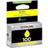 Lexmark 100/14N0902E (14N0922) Original Yellow Return Programme Ink Cartridge
