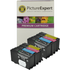 Lexmark 100xl Bk/C/M/Y x2, 8 pack Compatible High Yield Ink Cartridges
