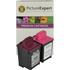 Lexmark 13400HC/ 13619HC Compatible Black & Colour Ink Cartridge Pack