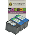 Lexmark 14 Compatible Black x 1 & 15 Compatible Colour x 2 Ink Cartridges