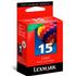 Lexmark 15 / 018C2110E Original Colour Return Program Ink Cartridge