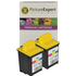 Lexmark 20 / 15M0120 Compatible Colour Ink Cartridge ** TWIN PACK DEAL **