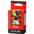 Lexmark 26/ 10N0026 Original Colour Ink Cartridge