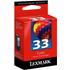 Lexmark 33/ 18C0033e Original Colour Ink Cartridge