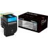 Lexmark 70C0H20 (700H2) Original High Capacity Cyan Toner Cartridge