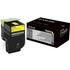Lexmark 70C0X40 (700X4) Original Extra High Capacity Yellow Cartridge