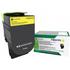 Lexmark 71B2HY0 Original High Capacity Yellow Return Programme Toner Cartridge
