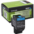 Lexmark 80C20C0 (802C) Original Cyan Toner Cartridge