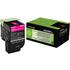 Lexmark 80C2HM0 (802HM) Original High Capacity Magenta Toner Cartridge