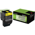 Lexmark 80C2SY0 (802SY) Original Yellow Toner Cartridge